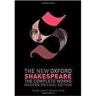 The New Oxford Shakespeare:...,Shakespeare, William; Taylor,...,9780198749721
