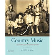 Country Music A Cultural and...,Neal, Jocelyn R.,9780190499747