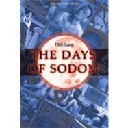 Days of Sodom,Lang, Dirk,9783861879749