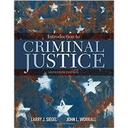 Introduction to Criminal...,Siegel, Larry J.; Worrall,...,9781305969766