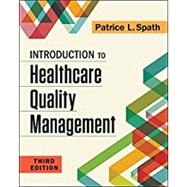 Introduction to Healthcare...,Spath, Patrice,9781567939859
