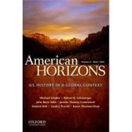 American Horizons, Concise...,Schaller, Michael;...,9780199739912