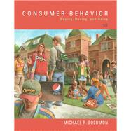 Consumer Behavior Buying,...,Solomon, Michael R.,9780134129938