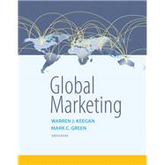 Global Marketing,Keegan, Warren J.; Green,...,9780134129945
