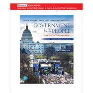 Government By the People, 2020 Presidential Elections Edition [RENTAL EDITION] by Magleby, David B., 9780136899945