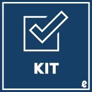 Excelsior - Medium Gloves (NON-RETURNABLE) (Kit # K3581BM) by Coursey, 8780000148279
